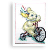 Pooky Trike Canvas Print