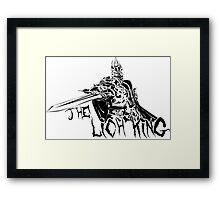 Lich King Framed Print