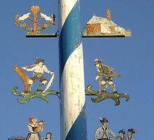 Maypole in Bavaria by Klaus Offermann
