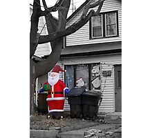 Christmas in Suburbia.... Simple is more... Photographic Print