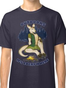 Outdoors: It's Everywhere Classic T-Shirt