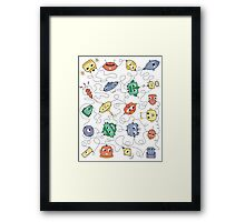 Making Connections Framed Print