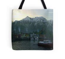 Dawn Fjord Tote Bag