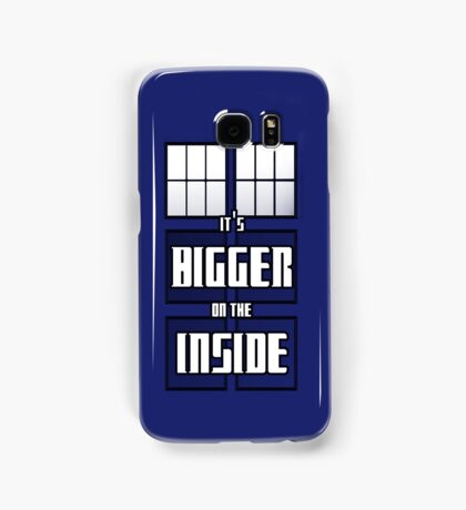 It's Bigger on the Inside Samsung Galaxy Case/Skin