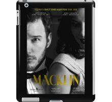 """Macklin"" poster 2 iPad Case/Skin"