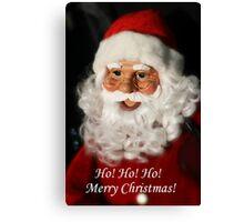 Santa!!!! Canvas Print