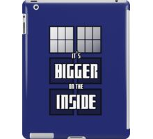 It's Bigger on the Inside iPad Case/Skin