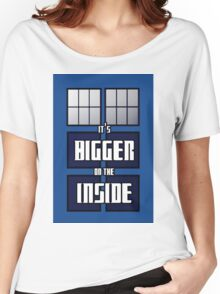 It's Bigger on the Inside Women's Relaxed Fit T-Shirt