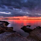 Cloudy Wangi Sunset by Mark Snelson