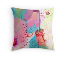 Fading Memories Throw Pillow