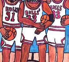 The Bulls by Goonsy