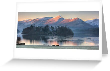Derwent Island and Cat Bells by Rich Gale