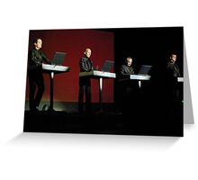 Kraftwerk Greeting Card
