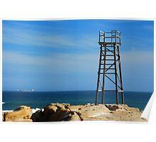 Shark Tower - Redhead Beach NSW Poster