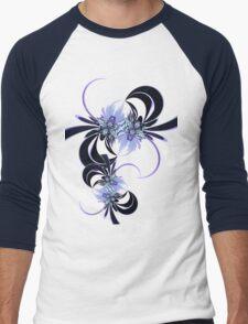 spout-trix Men's Baseball ¾ T-Shirt