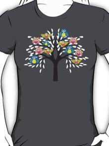owl tree T-shirt  T-Shirt