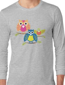 owls branch T-shirt  T-Shirt