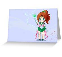 Sailor Jupiter Greeting Card