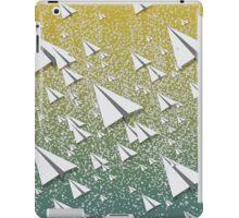 Paper Airplane 109 iPad Case/Skin