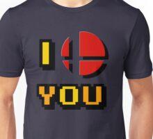 I Love You - Super Smash Bros. Unisex T-Shirt