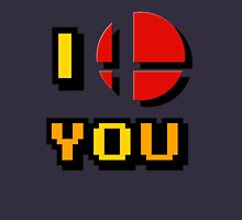 I Love You - Super Smash Bros. Unisex T-Shirt