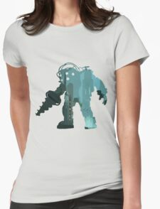 Rapture Big DaddySilhouette Womens Fitted T-Shirt