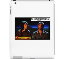 Never Bothered me iPad Case/Skin