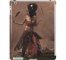 feathered dressed iPad Case/Skin