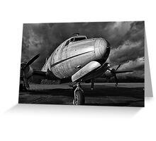Air Force - B&W Greeting Card