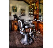 The Barber Chair Photographic Print