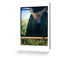 french balcony Greeting Card