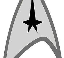 star trek logo by chloemease