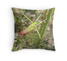"Large Tongue Orchid ""Cryptostylis subulata"" #2 Throw Pillow"
