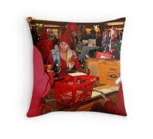 Santa's Post office Throw Pillow