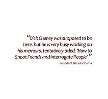 How to Shoot Friends and Interrogate People... (Amazing Sayings) by gshapley