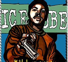 ICE CUBE - KILL AT WILL ALBUM COVER by S DOT SLAUGHTER