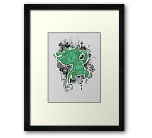 Trippy Floaters 10 Framed Print