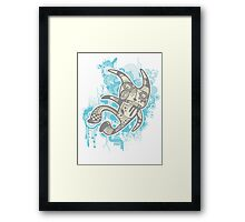 Trippy Floaters 7 Framed Print