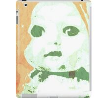 Scary Doll Screenprint #3 iPad Case/Skin