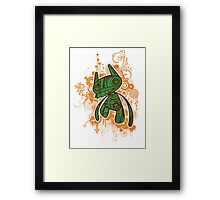 Trippy Floaters 3 Framed Print