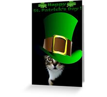 Happy St Patricks Day Greeting Card