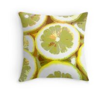 If life is a lemon, make lemonade Throw Pillow