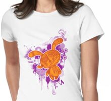 Trippy Floaters 2 Womens Fitted T-Shirt
