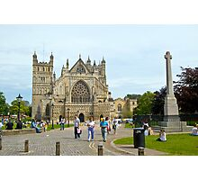 Cathedral St. Peter in Exeter Photographic Print