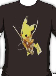 Pikachu Attack on Titan T-Shirt