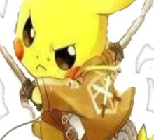 Pikachu Attack on Titan Sticker