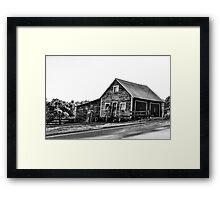 Little Barn Framed Print