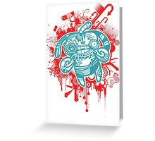Trippy Floaters 5 Greeting Card