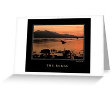 The Reeks Greeting Card