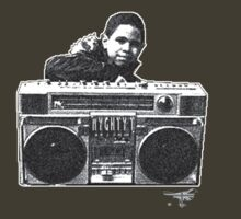 Ghetto Blaster BW by MIGHTY  -T-